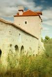 Fortaleza de piedra vieja Imagenes de archivo