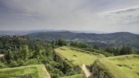 Fortaleza de plata de la montaña Fotografía de archivo