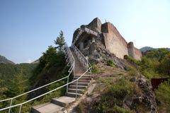 Fortaleza de Poienari Fotografia de Stock Royalty Free