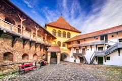 Fortaleza de Prejmer Tartlau, a Transilvânia - Romênia fotografia de stock royalty free