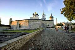 Fortaleza de Pskov Fotografia de Stock