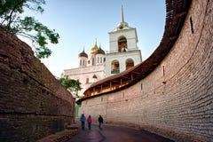 Fortaleza de Pskov fotografia de stock royalty free