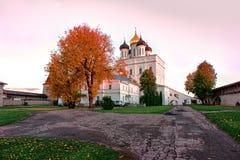 Fortaleza de Pskov Imagens de Stock
