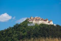 Fortaleza de Rasnov Foto de archivo libre de regalías