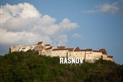 Fortaleza de Rasnov imágenes de archivo libres de regalías