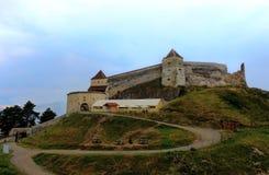 Fortaleza de Rasnov Fotografía de archivo libre de regalías