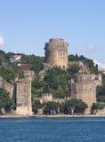 Fortaleza de Rumeli, Estambul Foto de archivo libre de regalías