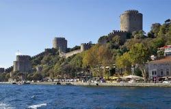 Fortaleza de Rumeli, Estambul, Turquía Imagen de archivo