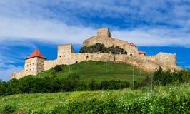 Fortaleza de Rupea en Rumania Imagenes de archivo