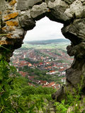 Fortaleza de Rupea en Rumania Fotos de archivo libres de regalías
