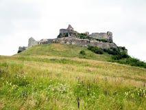 Fortaleza de Rupea en Rumania Foto de archivo libre de regalías