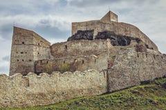 Fortaleza de Rupea, Roménia Imagem de Stock Royalty Free
