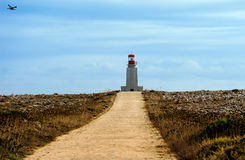 At Fortaleza de Sagres, Portugal Royalty Free Stock Photography