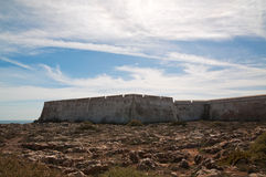 Fortaleza de Sagres; Portugal Stock Photography