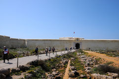 Fortaleza de Sagres (Sagres Fortress) Royalty Free Stock Photo