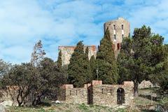 Fortaleza de Saint-Elme Foto de Stock