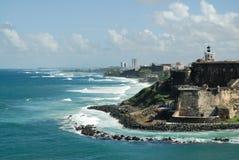 Fortaleza de San Cristobal Foto de archivo libre de regalías