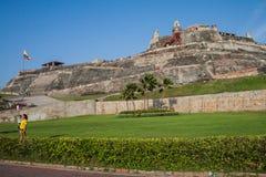 Fortaleza de San Felipe de Barajas foto de stock