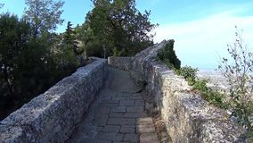 Fortaleza de San Marino almacen de video