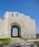 Fortaleza de Shumen Foto de archivo libre de regalías