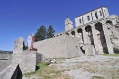 Fortaleza de Sisteron foto de archivo libre de regalías