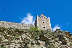 Fortaleza de skopje Macedónia Fotografia de Stock Royalty Free