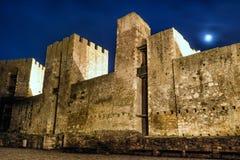 Fortaleza de Smederevo dentro de la visión Imagenes de archivo