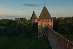 Fortaleza de Smolensk imagen de archivo