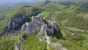 Fortaleza de Srebrenik Imágenes de archivo libres de regalías