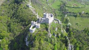 Fortaleza de Srebrenik Imagen de archivo
