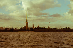 Fortaleza de St Petersburg, de Peter y de Paul imagenes de archivo
