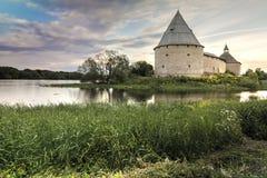 Fortaleza de Staroladozhskaya, Staraya regi?o de Ladoga, Leninegrado, R?ssia foto de stock royalty free