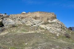 Fortaleza de Sudak Fotografía de archivo libre de regalías