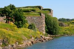 Fortaleza de Suomenlinna Imagens de Stock