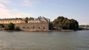 Fortaleza de Suomenlinna Foto de archivo libre de regalías