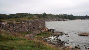 Fortaleza de Suomenlinna Imagenes de archivo