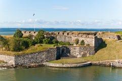 Fortaleza de Suomenlinna em Helsínquia Imagem de Stock