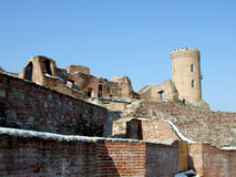Fortaleza de Targoviste Fotografía de archivo libre de regalías
