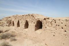 Fortaleza de Toprak Kala Imagem de Stock Royalty Free