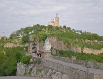 Fortaleza de Tsarevets fotos de stock