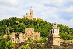 Fortaleza de Tzarevetz em Veliko Turnovo, Bulgária imagem de stock royalty free