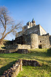 Fortaleza de Tzarevetz, Veliko Tarnovo, Bulgária Imagem de Stock Royalty Free