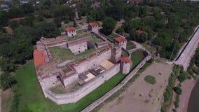Fortaleza de Vidin, Bulgaria almacen de video