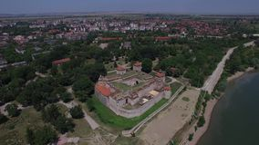 Fortaleza de Vidin, Bulgaria almacen de metraje de vídeo