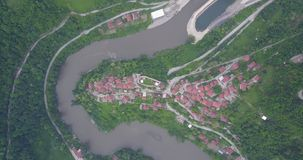 Fortaleza de Vranduk Imagen de archivo libre de regalías