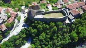 Fortaleza de Vranduk Foto de archivo libre de regalías