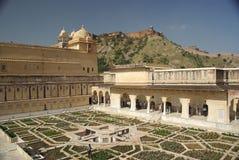 Fortaleza del ámbar, Rajasthán Fotografía de archivo
