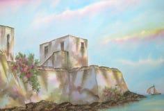 Fortaleza del Caribe mexicana Imágenes de archivo libres de regalías