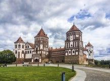 Fortaleza del castillo en Bielorrusia fotos de archivo libres de regalías