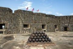 Fortaleza del EL Morro Fotografía de archivo
